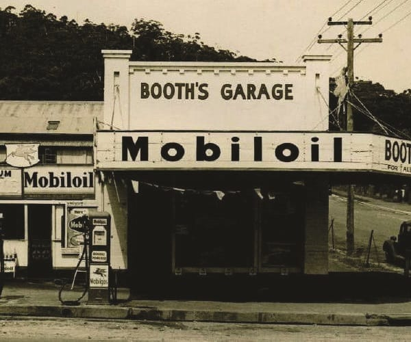 Booths Garage History