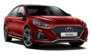 Hyundai sonata Red Booths Motors