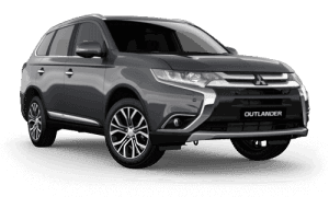 Grey Mitsubishi Outlander Booths Motors