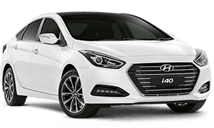 White Hyundai i40 Booths Motors