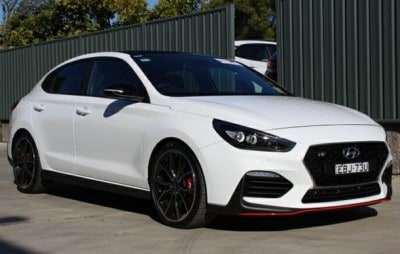 2019 i30 PDe.3 N Fastback Polar White