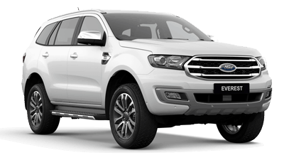 ford everest white