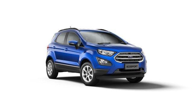 Royal Blue Four Wheel Ford Eco-Sport