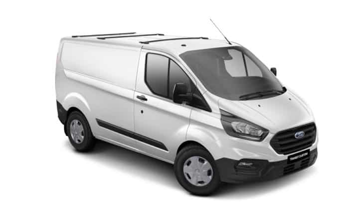 Grey Ford Transit Van